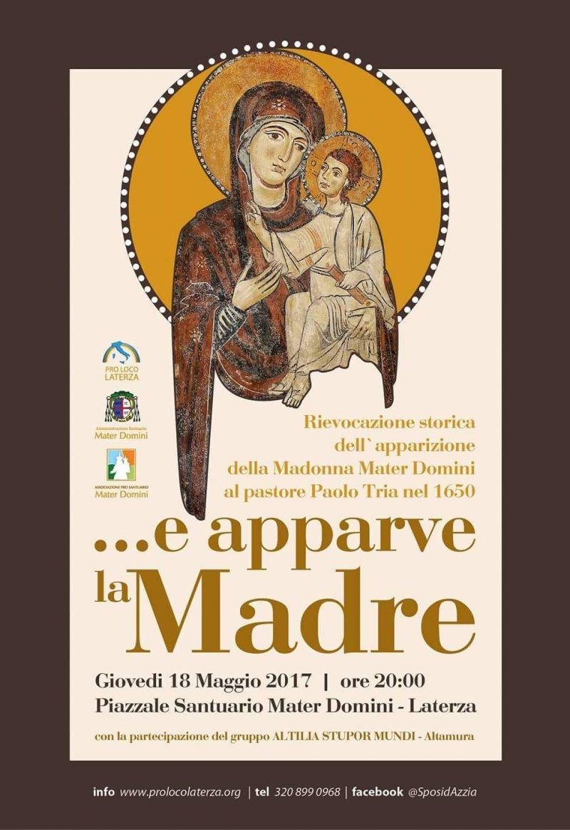 Laterza – Rievocazione Storica dell'Apparizione della Madonna Mater Domini
