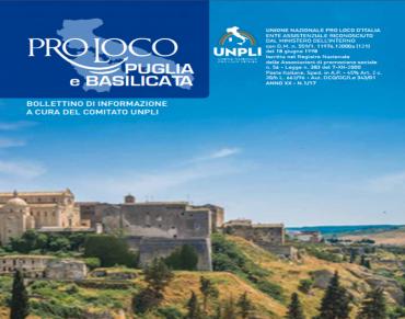 Sfoglia il nuovo Bollettino UNPLI Pulgia e Basilicata
