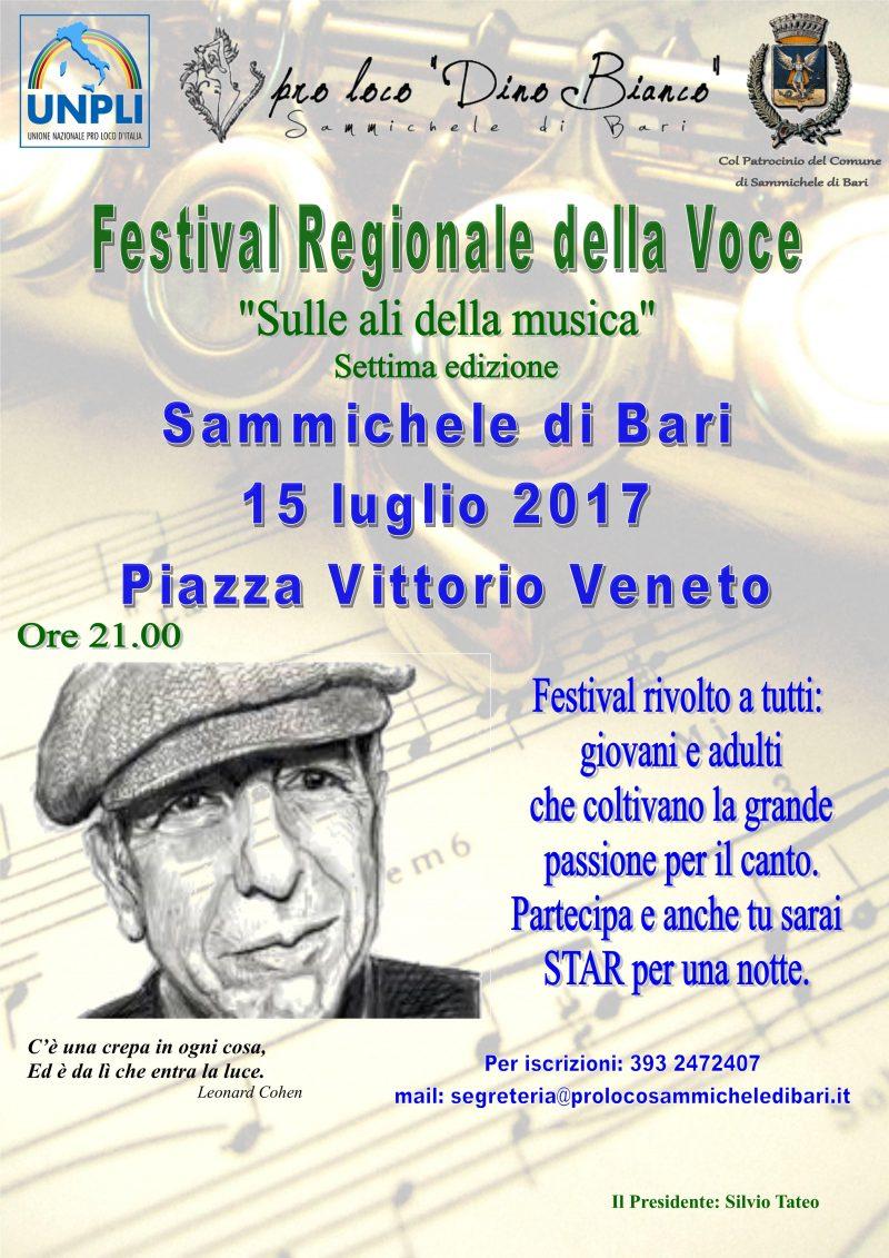 Sammichele di Bari – Festival Regionale della Voce