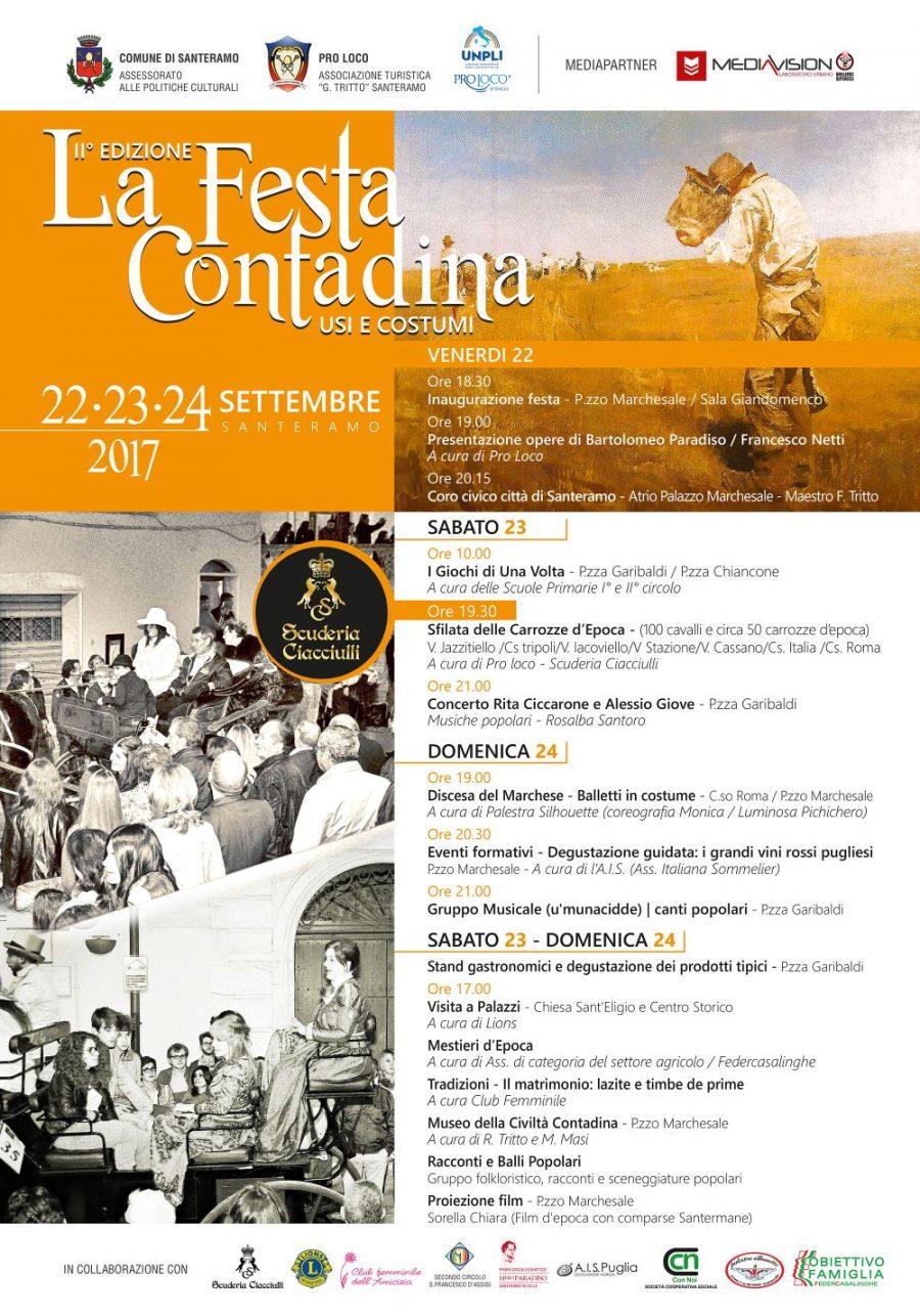 Santeramo (BA) – La festa contadina