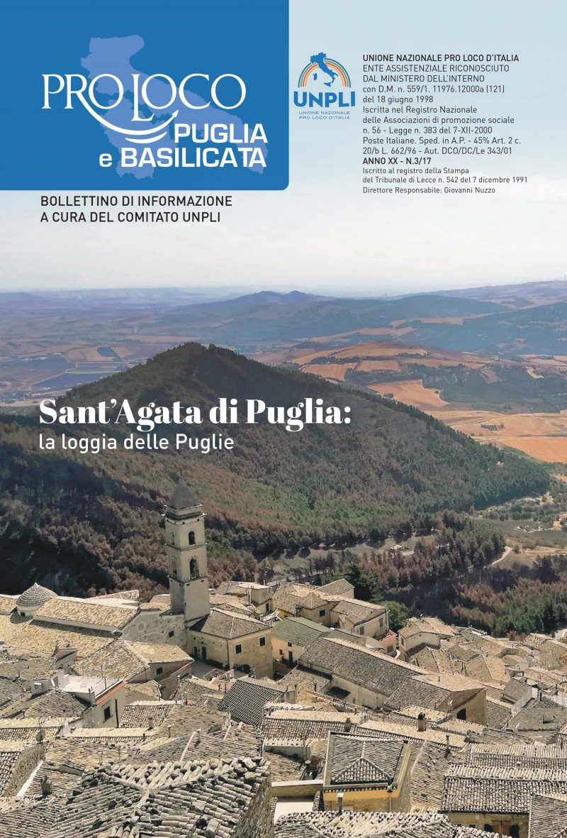 Sfoglia il nuovo Bollettino UNPLI Puglia e Basilicata
