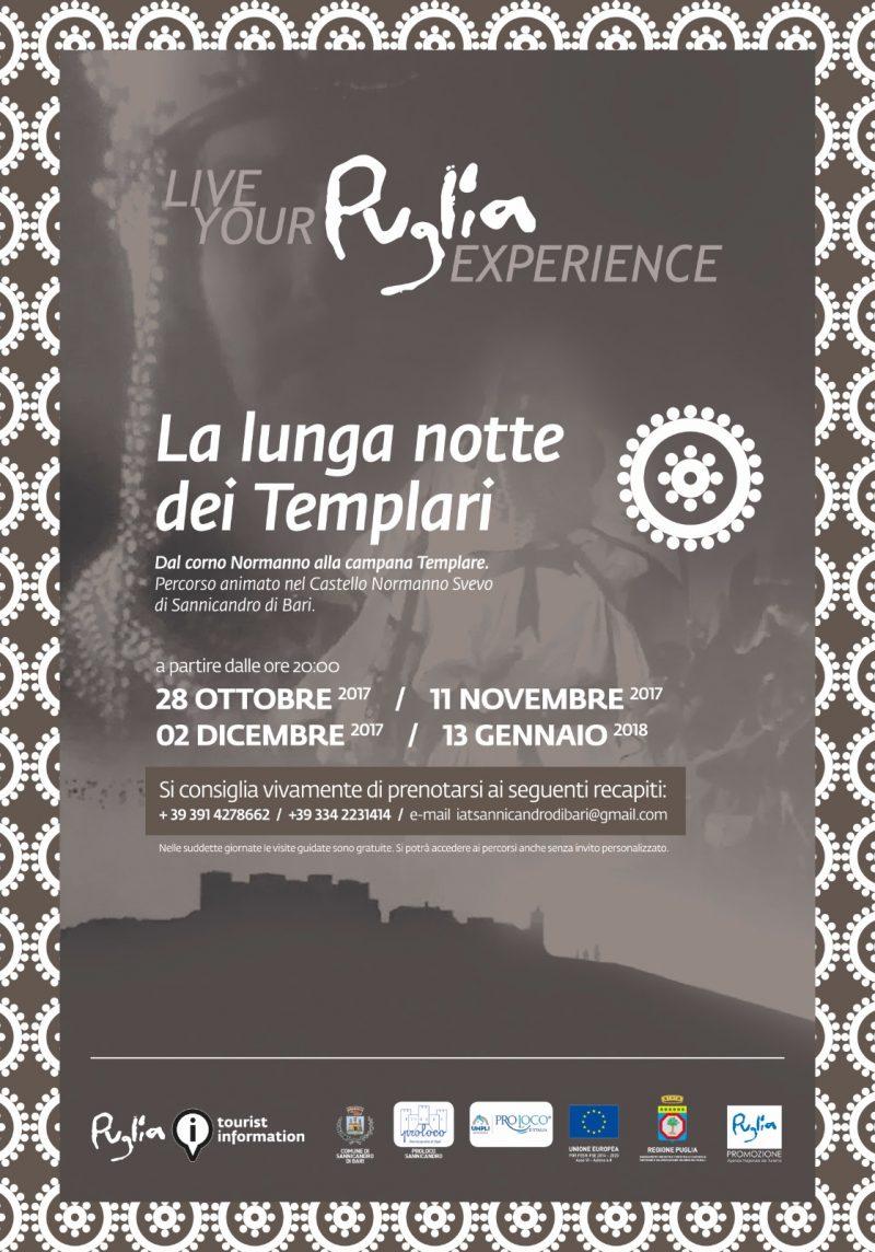 Sannicandro di Bari (BA) – La lunga notte dei Templari