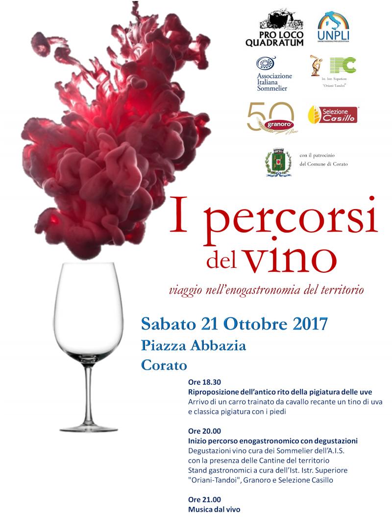 Corato (BA) – I percorsi del vino