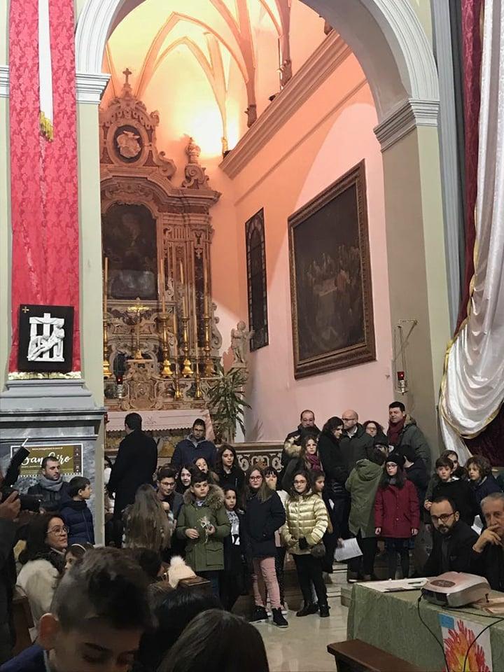 """Grottaglie (TA) – premiazione del concorso fotografico """"Uno scatto per San Ciro"""" e """"Un disegno per San Ciro"""""""