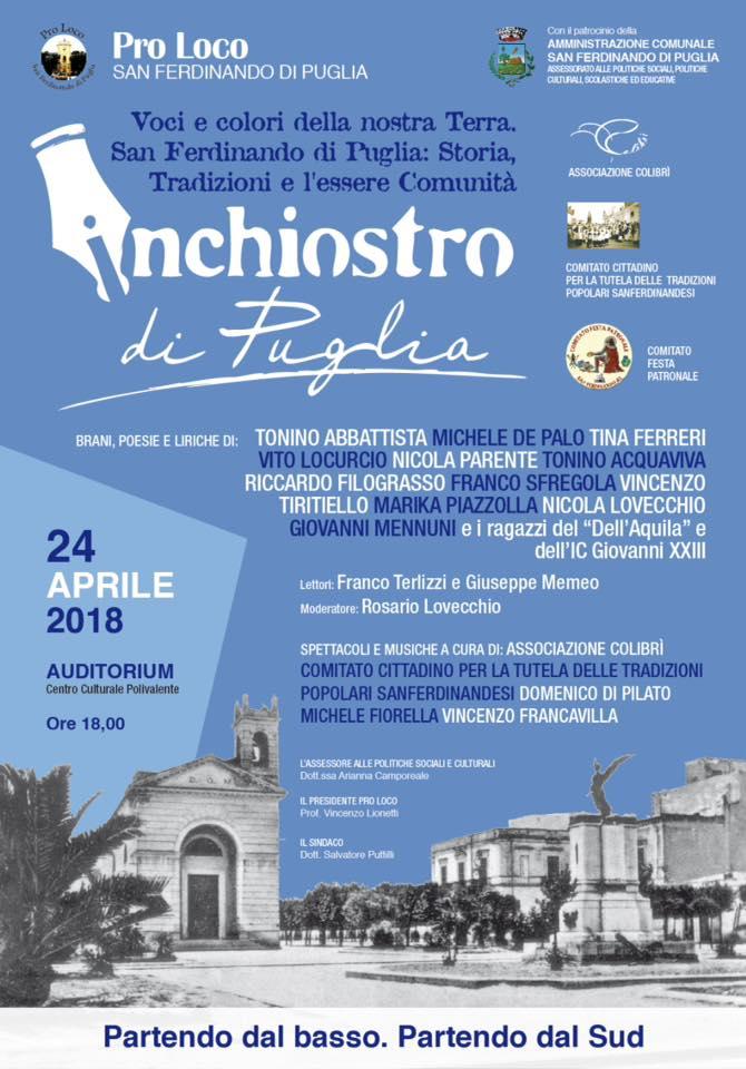 San Ferdinando di Puglia (BT) – La Notte di Inchiostro di Puglia 2018
