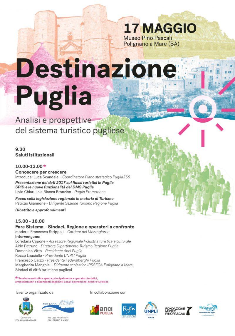 """Polignano a Mare (BA) – Convegno """"Destinazione Puglia"""""""
