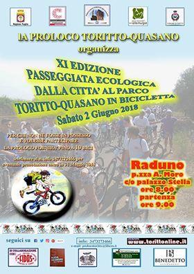 """Toritto-Quasano (BA) – XI  """"Dalla Città al Parco"""""""