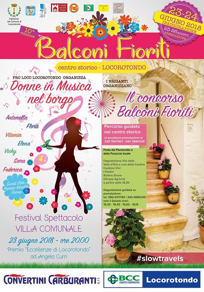 "Locorontondo (BA) – 11^ ""Balconi fioriti"""