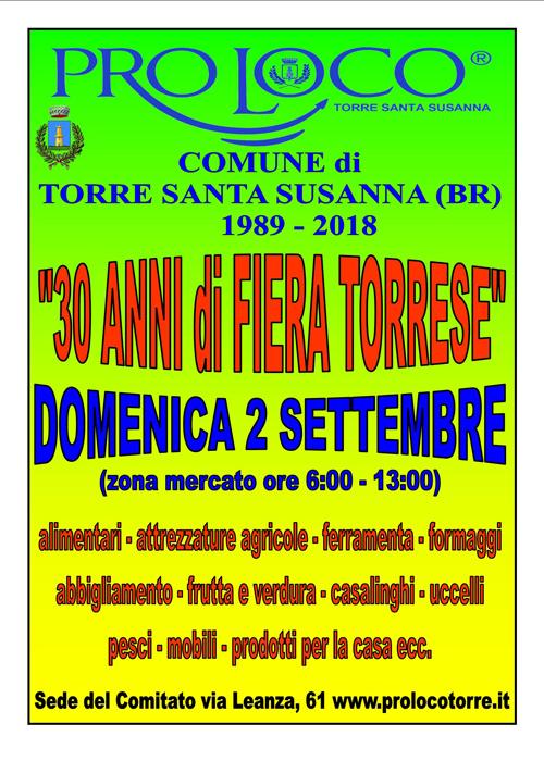 Torre Santa Susanna (BR) – 30a Fiera Torrese