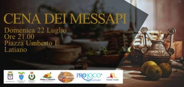 Latiano (BR) – Cena dei Messapi