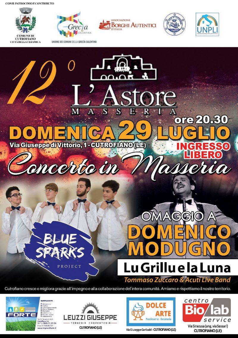 Cutrufiano (LE) – Concerto in Masseria