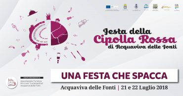 Acquaviva delle Fonti (BA) – XX Festa della Cipolla Rossa di Acquaviva delle Fonti