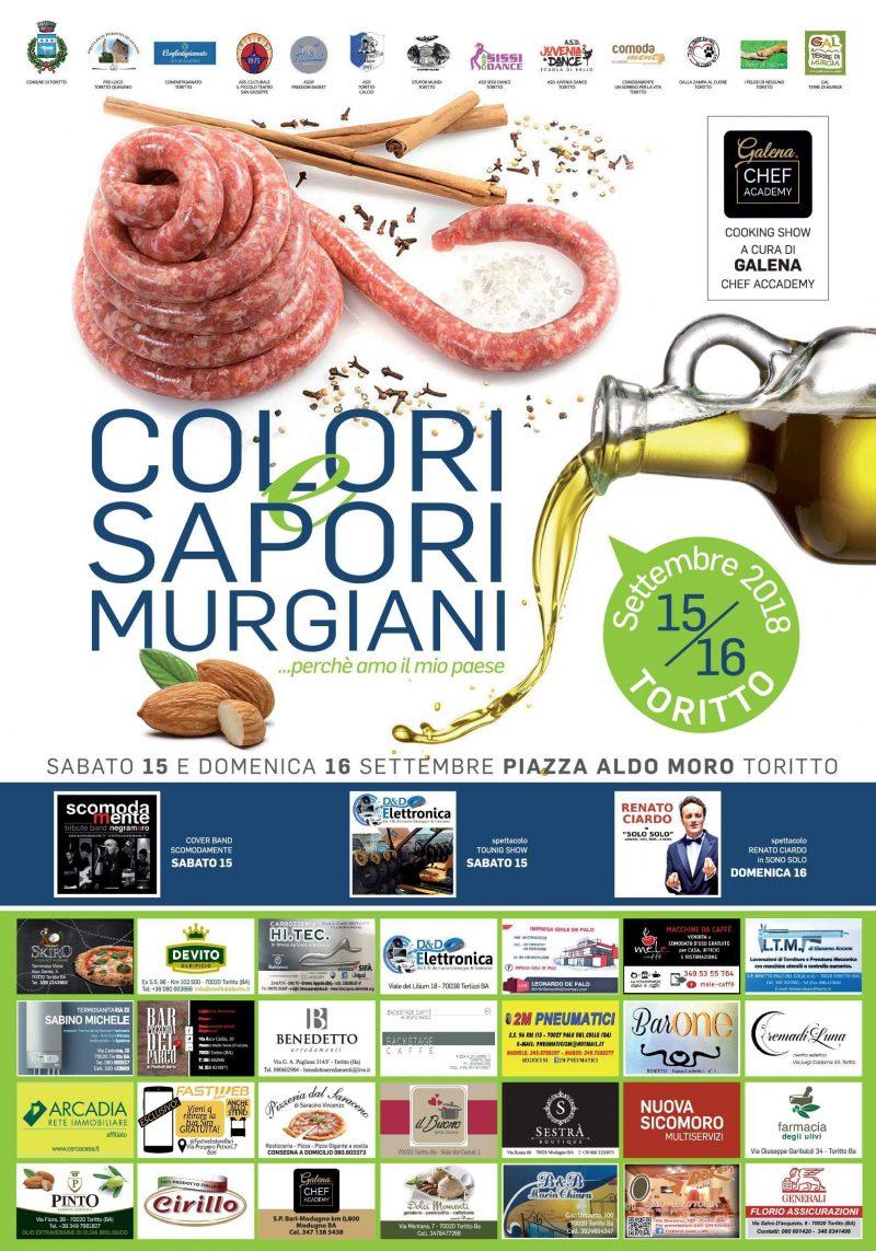 Toritto (BA) – Colori e sapori murgiani