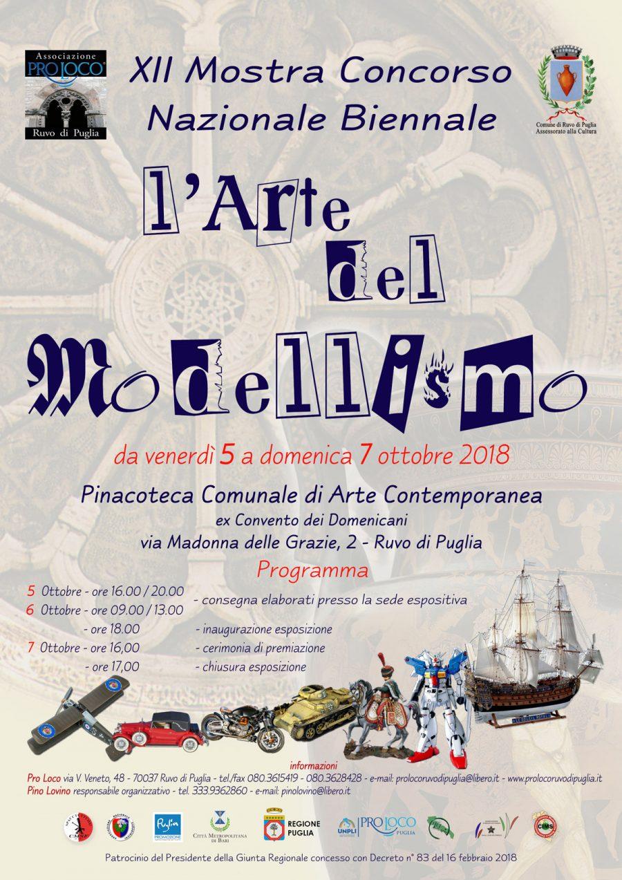 """Ruvo di Puglia (BA) – L'Arte del Modellismo, XII edizione: """"L'arte del particolare"""""""