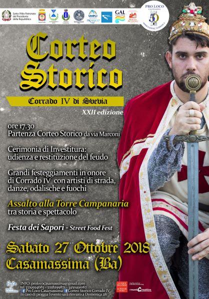 Casamassima (BA) – XXII Corteo Storico Corrado IV di Svevia