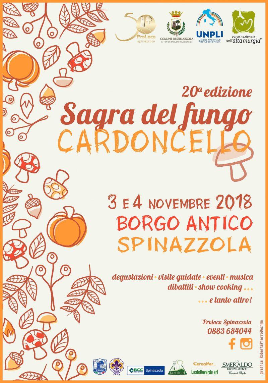 Spinazzola (BT) – Sagra del fungo Cardoncello