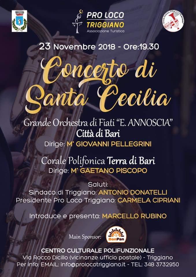 Triggiano (BA) – Concerto di Santa Cecilia
