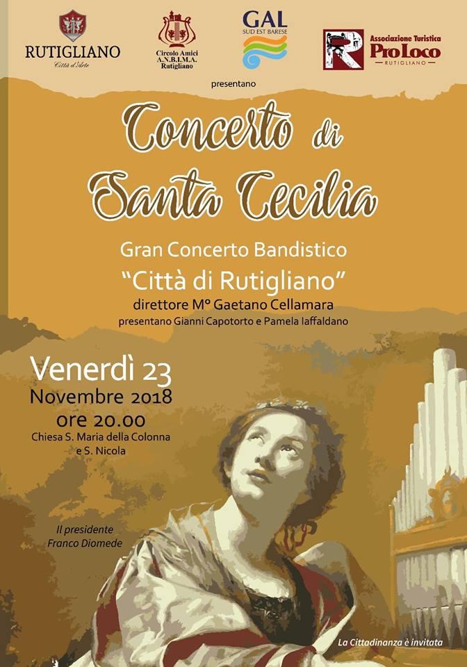 Rutigliano (BA) – Concerto di Santa Cecilia