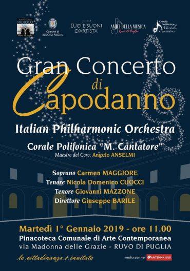 Ruvo di Puglia: Gran Concerto di Capodanno