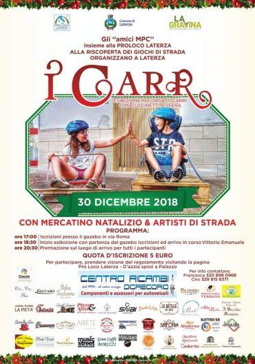 "Laterza (TA) – ""I CARR"""