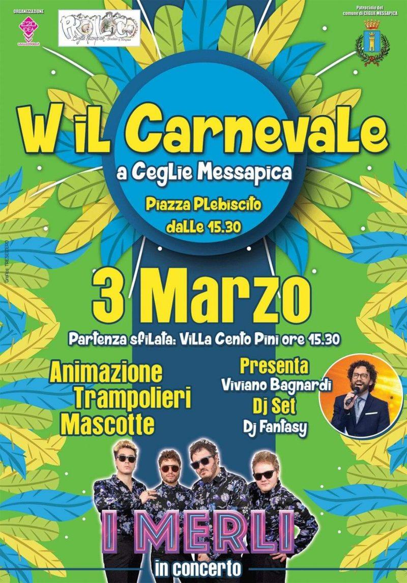 Ceglie Messapica (BR) – Viva il Carnevale