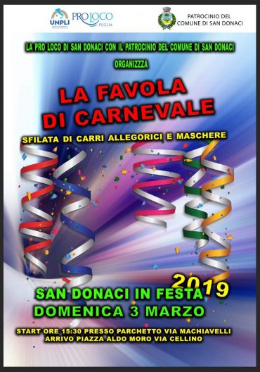 San Donaci (BR) – Favola di Carnevale