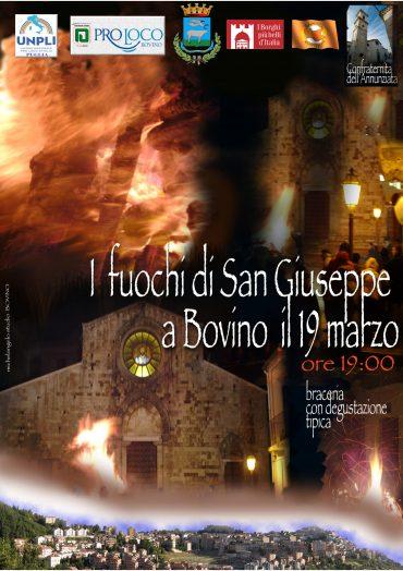 Bovino (FG) – I fuochi di S. Giuseppe