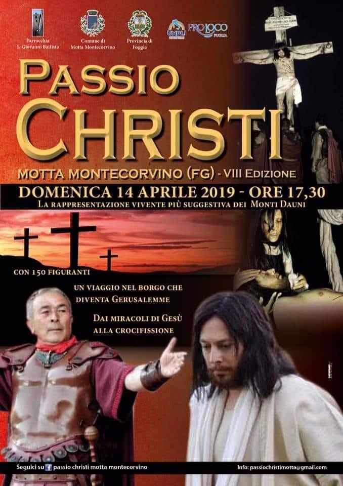 Motta Montecorvino (FG) – Passio Christi