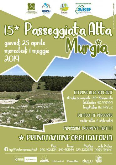 Spinazzola (BA) – 15a Passeggiata Alta Murgia