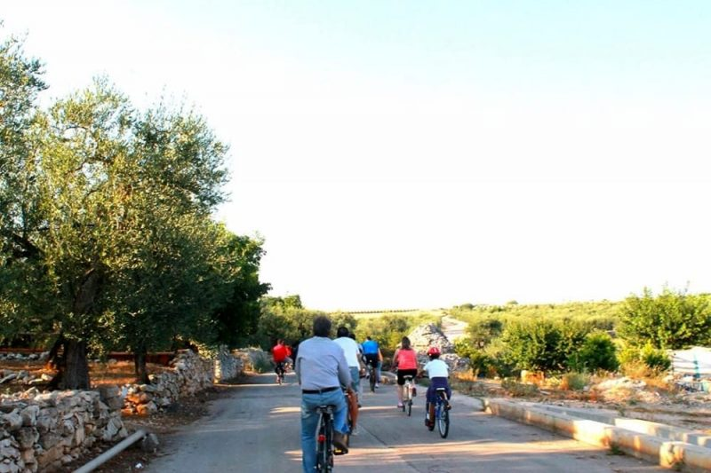 Corato (BA) – GIORNATA NAZIONALE DELLE PRO LOCO 2 GIUGNO 2019: Biciclettata al Dolmen