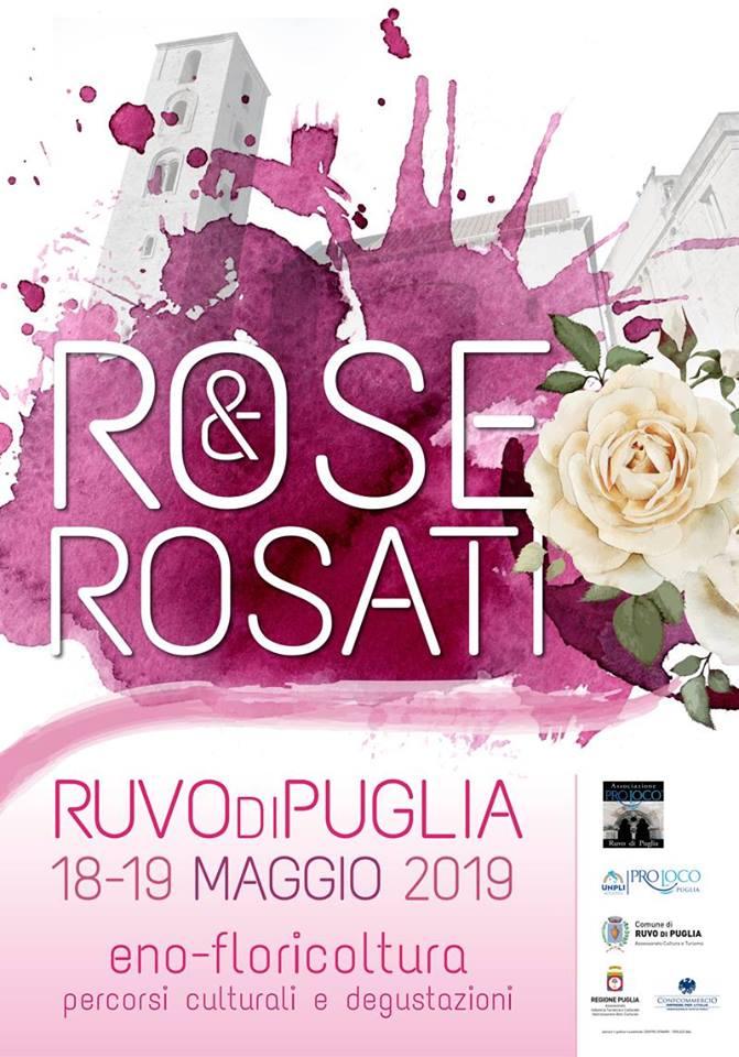 Ruvo di Puglia: Rose & Rosati – due giornate dedicate alle aziende florovivaistiche e vitivinicole