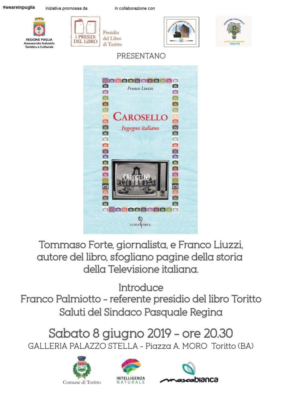 Toritto (BA) – Incontro con l'autore Franco Liuzzi