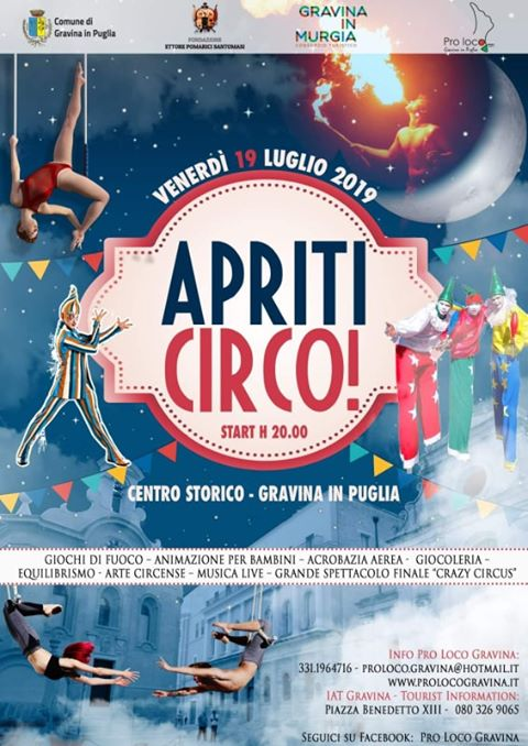 Gravina in Puglia (BA) – Apriti Circo!