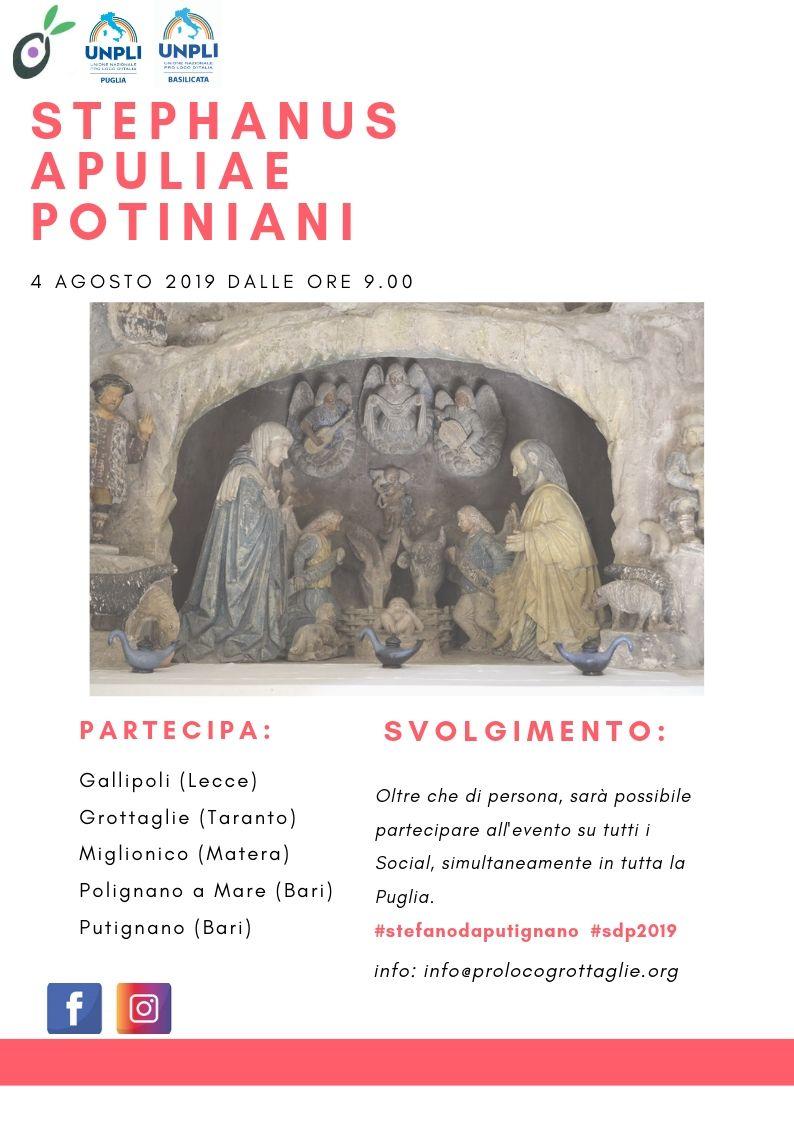 Grottaglie (TA) – Presentazione progetto: Conosci Stefano da Putignano?