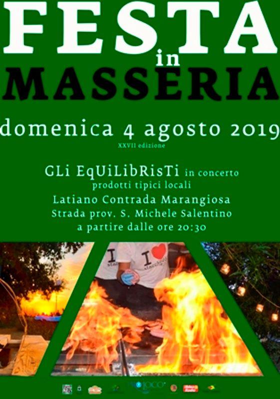 Latiano (BR) – Festa in Masseria 2019