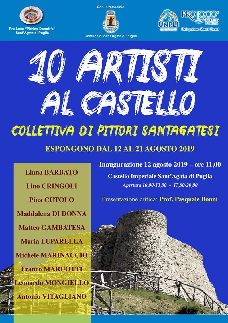Sant'Agata di Puglia – 10 Artisti al Castello