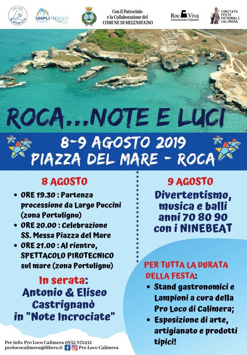 """Roca di Melendugno (LE) – """"Roca…Note e Luci"""""""