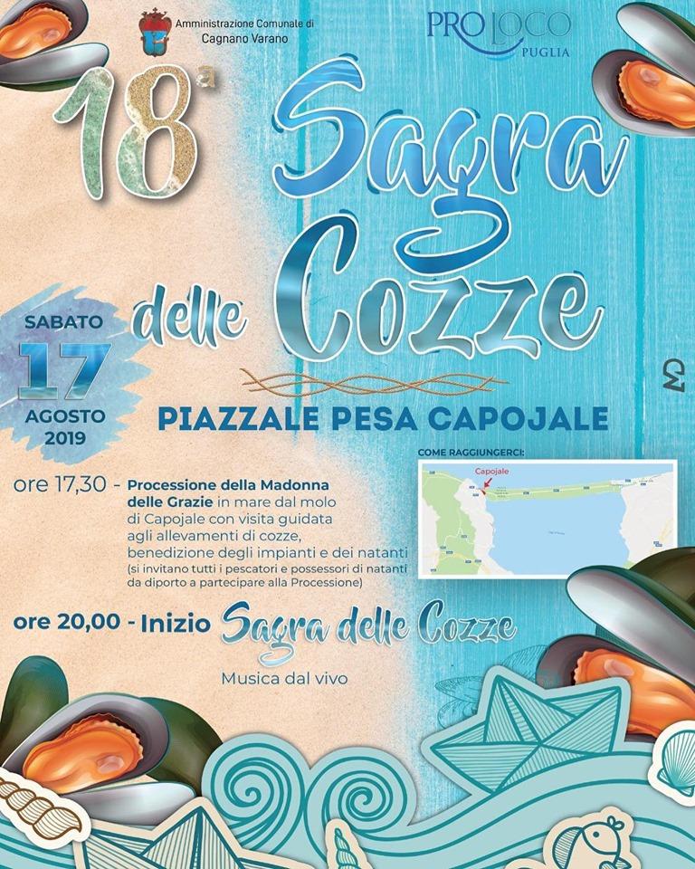 Cagnano Varano (FG) – Sagra delle Cozze a Capojale