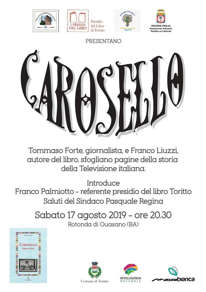 Toritto-Quasano (BA) – Storia del Carosello ingegno Italiano