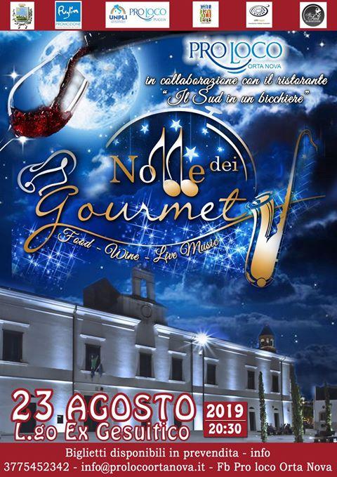Orta Nova: Notte dei Gourmet