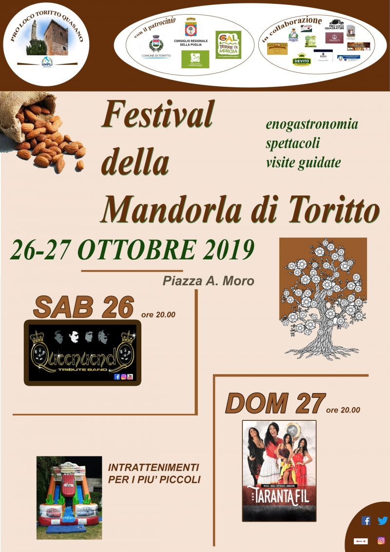 Toritto (BA) – Festival della Mandorla di Toritto
