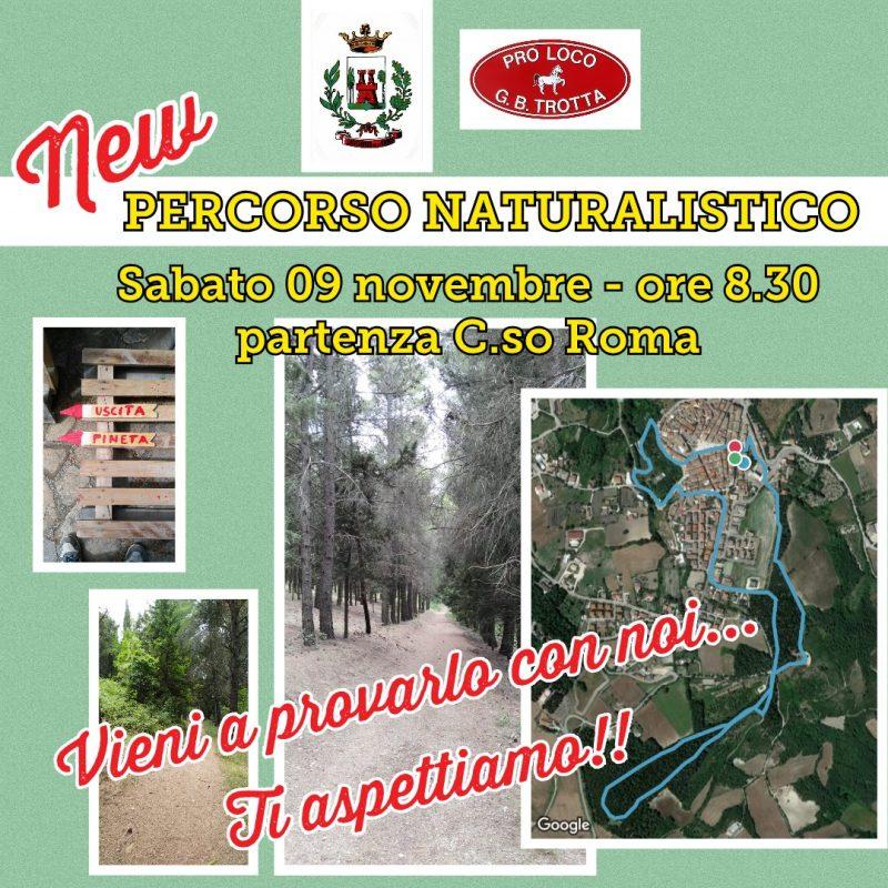 Castelnuovo della Daunia (FG) – Appuntamento col percorso naturalistico il 9 novembre