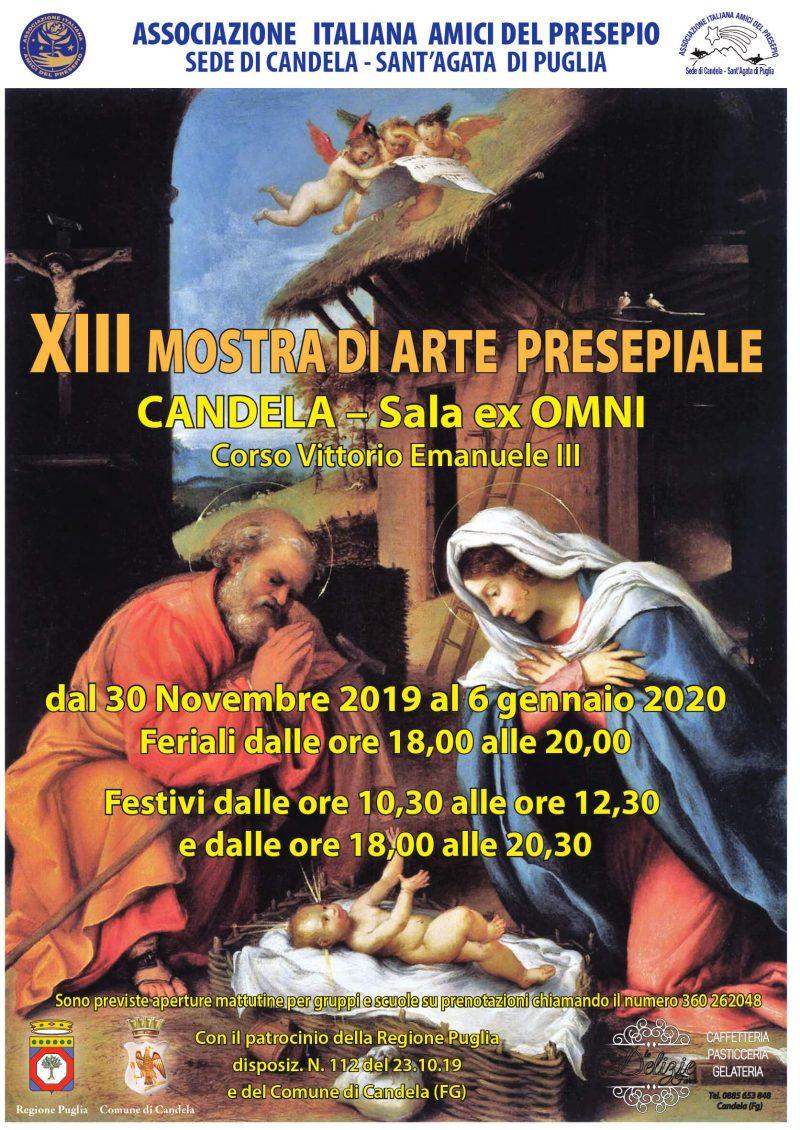Candela (FG) – XIII Mostra d'arte presepiale