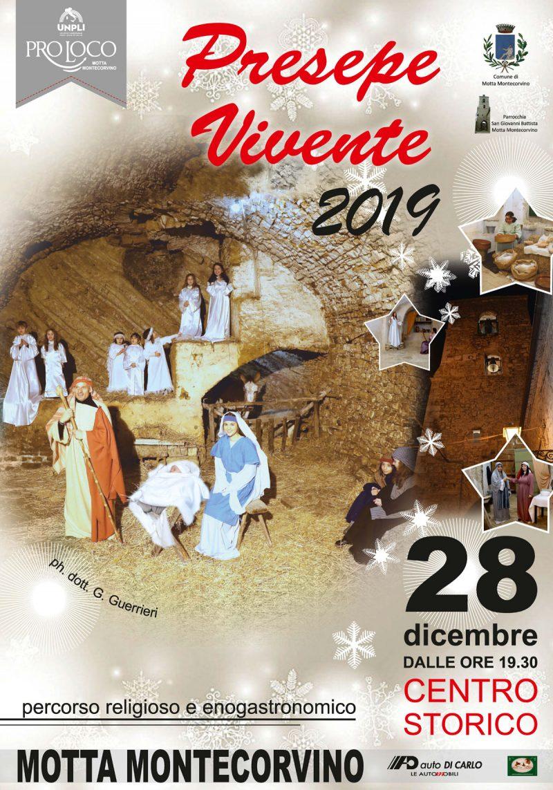 Motta Montecorvino (FG) – Presepe Vivente 2019