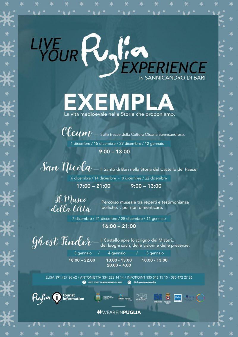 Sannicandro di Bari (BA) – Puglia Experience: Exempla