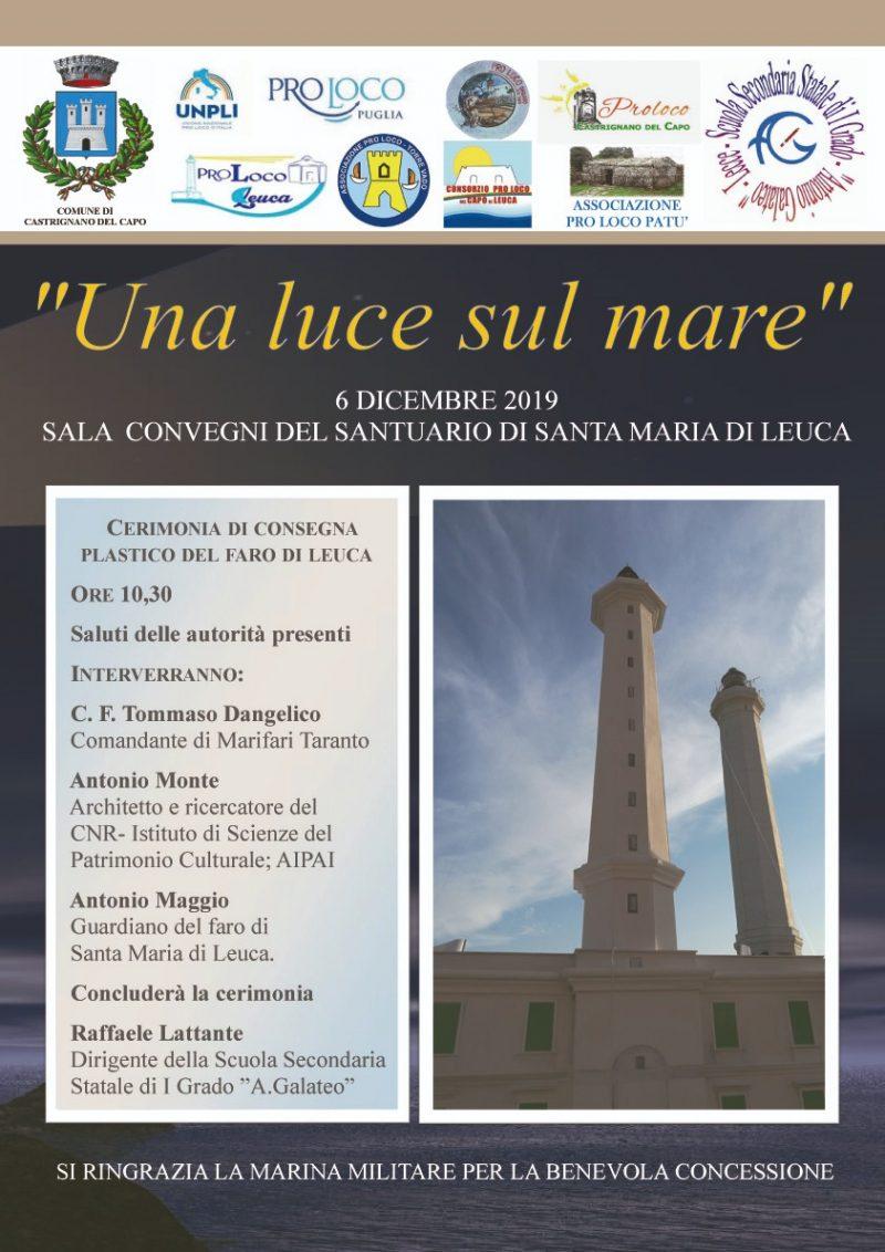 """Santa Maria di Leuca (LE) – """"Una luce sul mare"""""""