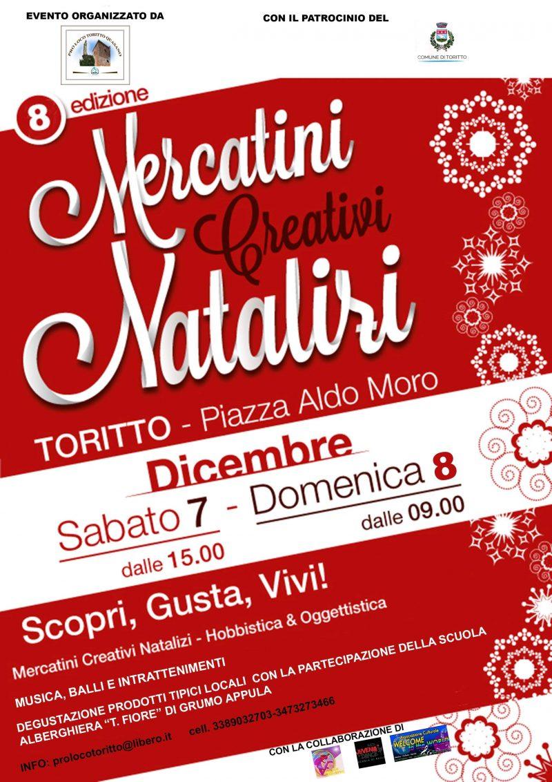 Toritto (BA) – Mercatini Creativi Natalizi