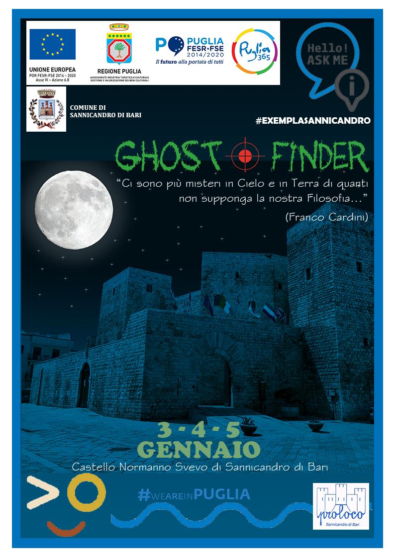 Sannicandro di Bari (BA) – Exempla: il ritorno dei Ghost Finder