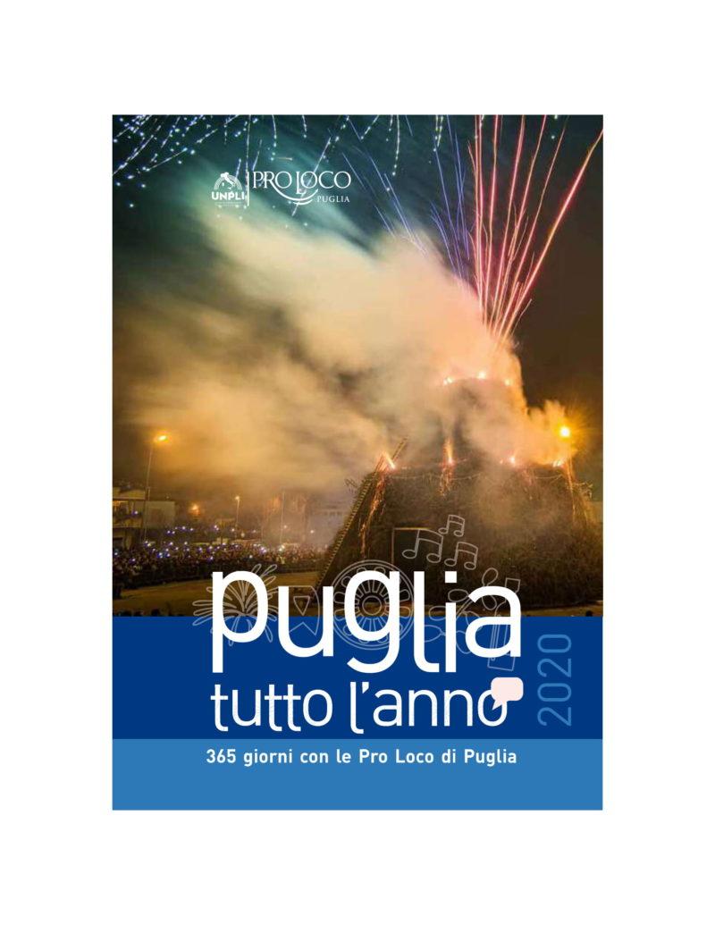 """Sammichele di Bari (BA) – Presentazione dell'opuscolo """"Puglia tutto l'anno"""" – 365 giorni con le proloco pugliesi – 2020″"""