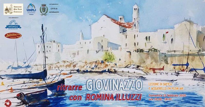 """Giovinazzo (BA) – """"Ritrarre GIOVINAZZO con ROMINA ILLUZZI"""""""